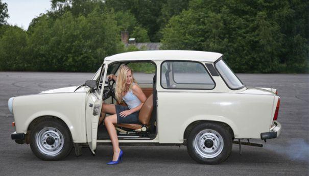 trabant girl